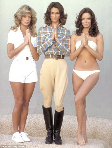 charlies angels standing