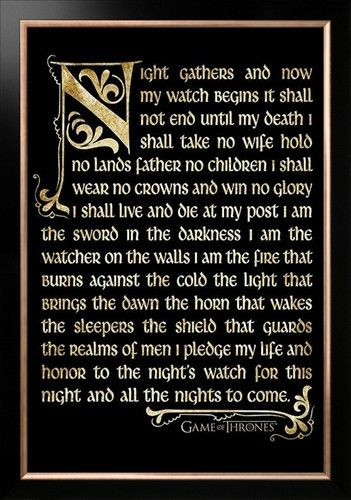 Night's Watch Oath
