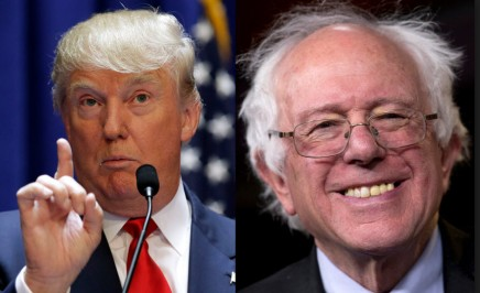 trump and bernie better