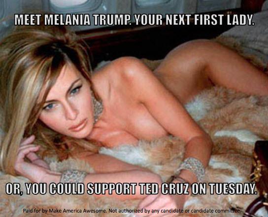 Melania GQ