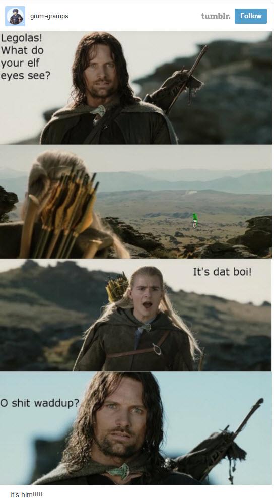 Legolas dat boi