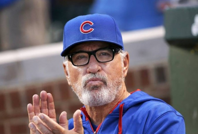Maddon Clapping again