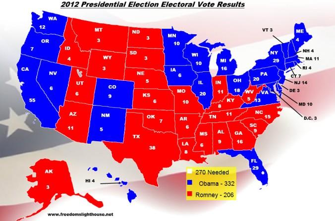 Trump 2012 Map